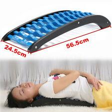ABS Back Stretcher Massage Massager Lumbar Support Waist Spine Pain Relief Relax