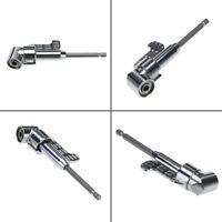 """Winkelschrauber-Vorsatz Adapter 105° 1/4"""" Winkelaufsatz Winkelgetriebe Bithalter"""