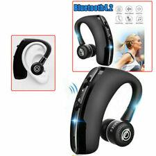 Bluetooth Headset Wrieless Handy Auto Stereo Kabellos Ohrhörer Mikrofon