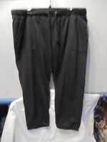 BOTTOMS UP, BLACK, KNIT,  CAPRI'S   SIZE 3X    NEW WITH TAGS