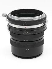 Zenza Bronica  Set of 4 close up rings - extension tubes C-A / C-B / C-C / C-D