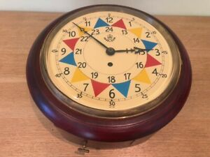 RAF Sector Wall Clock with Fusee Mechanism
