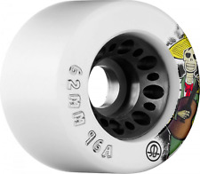 RollerBones Speed/Derby Nylon Day of The Dead 96a 4 Pack Roller Skate Wheels - -