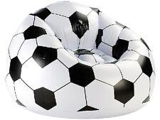 Sessel Fussballsessel Aufblasbar Loungesessel im Fussball-Look Fußball-Sessel