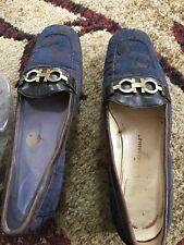 Ferragamo Vintage  womens loafers... Pre-loved Size 7