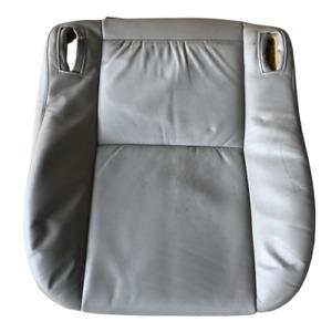 2002 02 Legacy Front Headrest Head Rest Cushion Driver Passenger Grey Gray Cloth