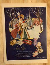 Original Print Ad 1951 AVON Cosmetics Avon Gifts Vintage Artwork