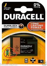 2 Stück Duracell Fotobatterie Flatpack Alkaline 6V 4LR61 / 4918 / 7K67