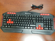 New listing iBuyPower Ares/E1 Gaming Keyboard - Spill Resistant Anti-slip rubber base
