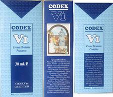 Crema idratante Protettiva Codex V1 per pelle acneica seborroica disidratata