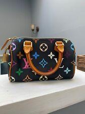 Louis Vuitton Nano Speedy Bag Multicolor Authentic