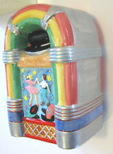 AT THE DRIVE-IN JUKEBOX BANK Ceramic Classic 1015 Bubbler Records Sock Hop MIB