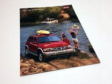 2000 Kia Sportage Brochure USA