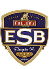 Framed Print - Real Ale Pump Clip Fuller's ESB Champion Ale (Picture CAMRA Beer)