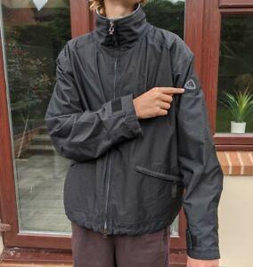 Vintage Men's Black Nike ACG Clima Fit Max Full Zip Windbreaker Jacket XL