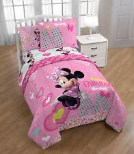 Disney's Minnie Mouse Pink Twin Comforter, Sheets & BONUS SHAM (5 Piece Set)