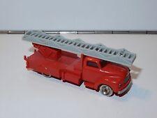 LEGO SYSTEM BEDFORD FIRE ENGINE LADDER TRUCK HO SCALE 1950s DANMARK