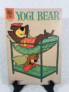DELL COMICS * YOGI BEAR * 💥 #4 💥 1961 SILVER AGE 🍯 FN+