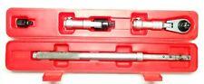 Flex Head Ratchet Double Pawl w/ Extension Tool Set