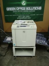 Riso RZ220 High Speed Digital Duplicator NETWORKED EXCELLENT PRINTS & OP Manual