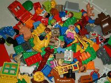1 KILO kg LEGO DUPLO - bunt gemischt - Bausteine Tiere Platte Figur Fahrzeug