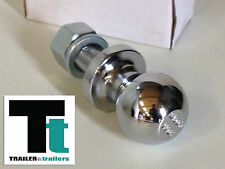 Trailer Tow Ball - Chrome - Rated at 3500 kg - 50mm - New