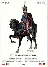 Prince Joseph Poniatowski 1763-1813. Postcard set (12 pieces)