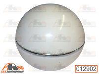BOULE POMMEAU de levier de vitesse BLANCHE pour Citroen 2CV DYANE MEHARI -12902-