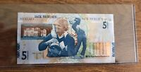JACK NICKLAUS ROYAL BANK OF SCOTLAND 5 POUND NOTE UNCIRCULATED PRICE IS FOR 1