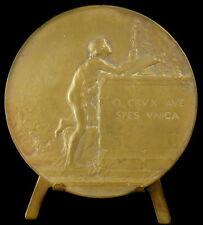 Médaille religieuse c1940 Rédemption Saint Jean La Vierge, Dupré religious medal