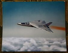 Vintage 1960's F-111 Aardvark US Air Force Jet Concept Drawing Art Print Photo