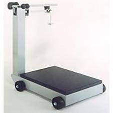 "Detecto 954F50K Portable Mechanical Floor Scales, 1,000 kg Capacity, 28"" x 28"""
