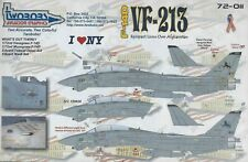 New ListingF-14D Vf-213 Tomcats Rampant Lions over Afghanistan 1/72 TwoBobs 72-011