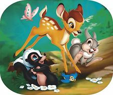 BAMBI Pictorial computer mouse mat a scene with Bambi,Thumper & Flower
