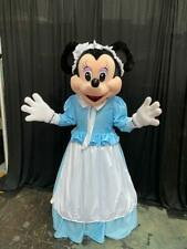 Minnie Mouse Pilgrim Thanksgiving Character Mascot Costume Cosplay Party Event