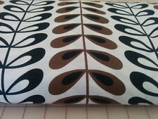 RETRO LEAF Fabric Fat Quarter Cotton Craft Quilting Alexander Henry Kenyan Tea