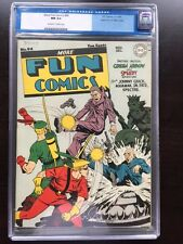 MORE FUN COMICS #94 CGC NM 9.4; OW-W; Green Arrow cvr! Mile High!