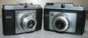 2 x Vintage Dacora Digna - 120mm Roll Film Camera - Bundle / Job Lot