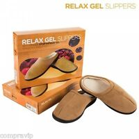 ZAPATILLAS RELAX SUELA  GEL SLIPPERS ANTIFATIGA RELAJACION CONFORT
