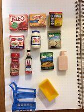 Zuru Mini Brands Grocery Lot Dollhouse or Rement Miniature 10+basket