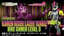 (P) Bandai S.H.Figuarts Kamen Rider Ex-Aid Laser Turbo Bike Gamer Level 0 Figure