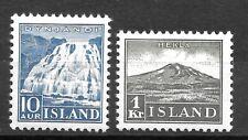 Iceland Sc.193-194 MNH cat.value $220