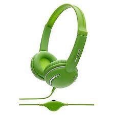 Groov-e Gv897 Streetz Stereo Full Over Ear Mp3 Headphones Volume Control - Green
