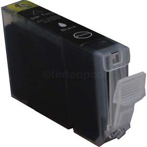 10 Tintenpatronen 6Bk für Canon IP 4000 R ohne Chip