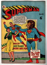 Australian SUPERMAN 105 DC Comics 1950's UK