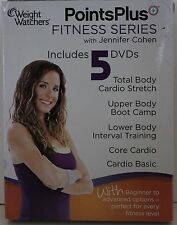 Weight Watchers Points Plus Fitness Serie Jennifer Cohen 5 DVD Workout Set