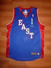 #1 BARON DAVIS REEBOK 2004 NBA ALL-STAR GAME EAST BLUE AUTHENTIC JERSEY 44
