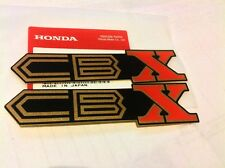 HONDA CBX1000 CBX 1000 PAIR SIDE PANEL DECAL EMBLEM GENUINE HONDA NOS