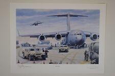 "Air Force Association - Anniversary Art Print ""Duty Calls"""