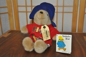 "Vintage 1981 Paddington Bear Plush Eden Toys Darkest Peru to London 14"" Stuffed"